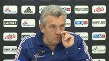 Handball, EdF - Onesta : ''Performance insuffisante des ailiers''