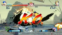 Super Street Fighter IV Arcade Edition - Yun et la Super de l'abus