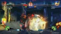 Super Street Fighter IV Arcade Edition - Evil Ryu VS Yun