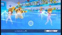 Mario & Sonic aux Jeux Olympiques de Londres 2012 - Natation synchronisée