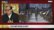 Les dessous de la haute couture: les métiers d'art, dans Goûts de luxe Paris - 12/01 6/8
