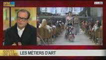 Les dessous de la haute couture: les métiers d'art, dans Goûts de luxe Paris - 12/01 7/8
