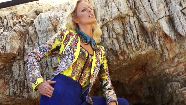 Anne Vyalitsyna (Anne V) & Karolina Kurkova Making of Roberto Cavalli Resort 2013 HD Video