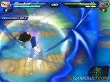 Dragon Ball Z : Budokai Tenkaichi 2 - Vegeta explose Doria