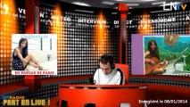 LNradio part en live - jeudi 9 janvier 2014
