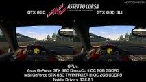 Assetto Corsa Beta 0.4 - GTX 660 vs GTX 660 SLI - 1080p