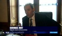 le maire d'Avranches Guénhaël Huet Huet conteste les chiffres du recensement - janvier 2014