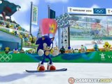 Mario & Sonic aux Jeux Olympiques d'Hiver - Sonic dans le tuyau