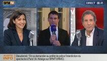 Anne Hidalgo est l'invitée de Jean-Jacques Bourdin sur RMC et BFMTV