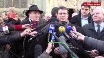 """Quimper. Valls : """"La Bretagne a de magnifiques atouts"""""""