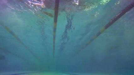 Pływanie: Mistrzostwa Tarnowa Szkół Gimnazjalnych w Pływaniu (kamera podwodna)