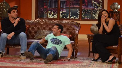 Salman khan -  Jai Ho Permotion On comedy Nights With Kapil