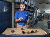 Présentation des boules de pétanque La Boule Bleue