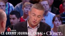La Une de Closer sur François Hollande et Julie Gayet fait débat sur le plateau du Grand Journal