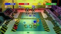 Sega Superstars Tennis - Mini-jeu Sonic