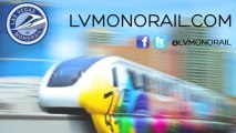 Las Vegas Monorail Coverage of CES 2014 | Las Vegas Transportation pt. 8