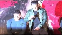 Bollywood Actor Salman Khan along with brother Sohail Khan launched the trailer of his much anticipated film Jai Ho amongst the media and his fans
