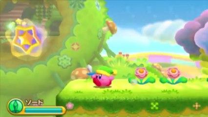 Les 30 premières minutes de jeu de Kirby Triple Deluxe