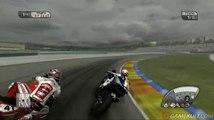 SBK 09 Superbike World Championship - De Puinet style, je comprends pas pourquoi je perds l'avant.