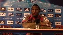 Rugby - Dug Codjo après la victoire d'Oyonnax face à Biarritz (Challenge Européen)