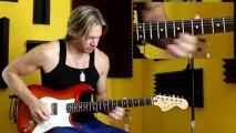 Beginner Guitar Slideups - Online Guitar Lessons - Free Guitar Lessons