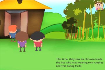 Kids Story - Mysterious hut by PARI- Animated Stories for kids