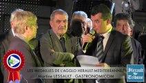 HERAULT - 2014 - GASTRONOMICOM Martine LESSAULT honorée de la médaille d'honneur de la Communauté d'Agglomération HERAULT MEDITERRANNEE
