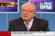 ▶ BFMTV _ Jean marie Lepen SOUTIEN Dieudonné !