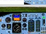 Flight Simulator pour Windows 95 - Atterissage forcé