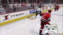 NHL 08 - Démo du Skill stick