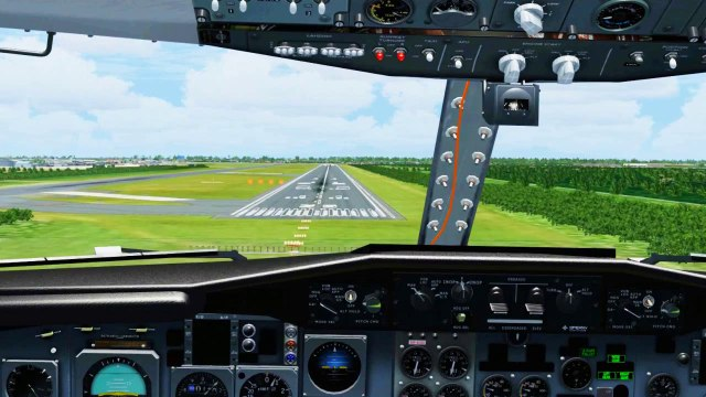 FSX MUST SEE  !!! COCKPIT LANDING close to real life    [HD] Watch
