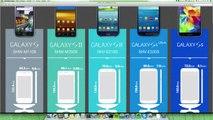 Samsung Galaxy S5 vs. Galaxy S4 vs. Galaxy S3 vs. Galaxy S2 vs. Galaxy S - Specs Comparison Review!