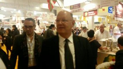 SIA 2014 : Rémy Pflimlin dans les allées du Salon de l'agriculture