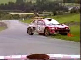 Rally Peugeot 306 Cosworth KF mid-mount 2.5 V6 DTM 4WD 9