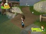 Harvest Moon : Parade des Animaux - Lapin câlin et pêche