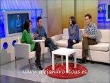 """Alejandro Tous. Entrevista a Alejandro Tous y Ruth Núñez en el programa """"Sin Ir Más Lejos"""" - Aragón TV"""