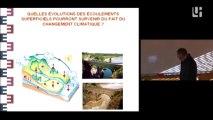 Conférence V. Andreassian Ressources en eau Changement climatique Novembre 2013 Université de Rouen