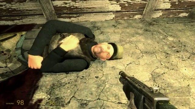 Let's Play Half Life 2  #44 [Deutsch][HD] - Jo Barney, was geht ab?