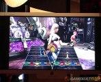 Guitar Hero III : Legends of Rock - Gameplay à l'E3 2007