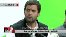 Rahul Gandhi: Congress has been struggling to pass Lokpal, now we are 99% sure