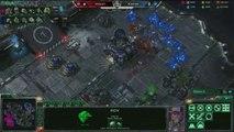 StarCraft II : Wings of Liberty - [MLG 2012] Violet vs Kawaii #1