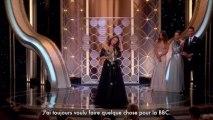 Le discours décousu de Jacqueline Bisset aux Golden Globes (vost)