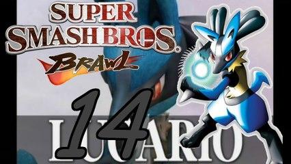 Let`s play Super Smash Bros Brawl part 14# Lucario vs Meta Knight