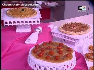 choumicha - recette facile tarte renversée aux poires