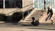 Chutes violentes en Skate filmées en Slow Motion!