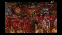 Kad se voli iz srca onda se pjeva iz duše - Crnogorska himna na utakmici sa Švedskom ,EP rukometu 2014 Danska