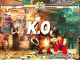 Street Fighter III 3rd Strike - Ken s'enflamme