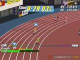 Virtua Athlete 2K - Bon début de course pour Raoul Ménar