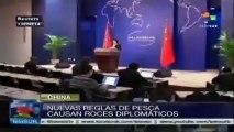 Nueva ley de pesca china genera roces diplomáticos con Japón