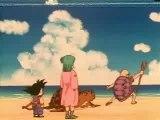 Sangoku monte sur 1 nuage magique